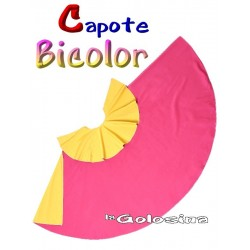 Capote Bicolor 75 cm Torero