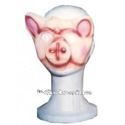 Media careta cerdo