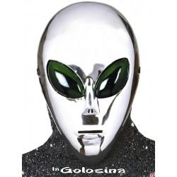 Careta Alien plateado