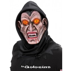 Careta Con capucha negra vampiro