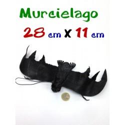Murcielago negro 28 cm X 11 cm