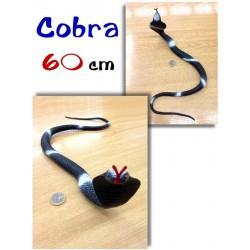 Cobra de goma 60 cm