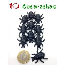 Pack 10 Cucarachas negras