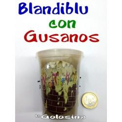 Broma Blandiblu con gusanos