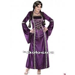 Disfraz Ad. Princesa Medieval.