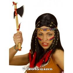 Tomawak indio bambu hacha india