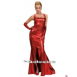Disfraz Ad Vestido fiesta GLAMOUR rojo