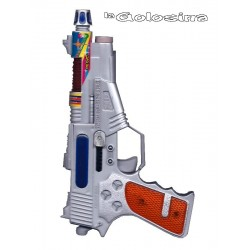 Pistola espacial gris