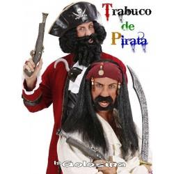 Pistolon pirata plastico 42 cm