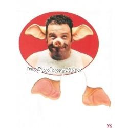 Diadema Cerdo plastico