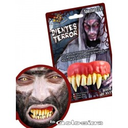 Dientes Vampiro ajustables con pasta n 9