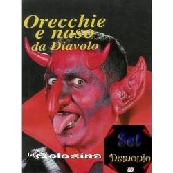 Orejas mas nariz diablo