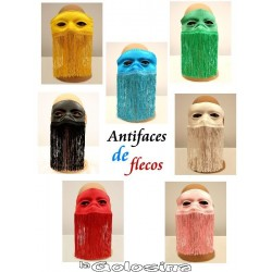 Antifaz de flecos