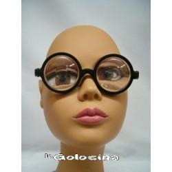 Gafas Cristal aumentos Ojos grandes
