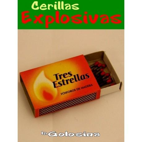 Broma 10 Cerillas explosivas en caja