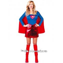 Disfraz Ad. Chica Heroe.