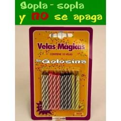 Broma 10 Velas magicas