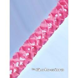 Guirnalda rosa 3 metros