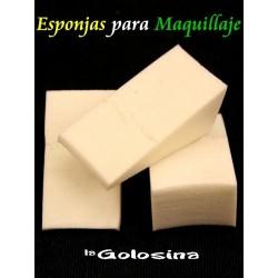 Esponja triangular para maquillaje pack 4 U