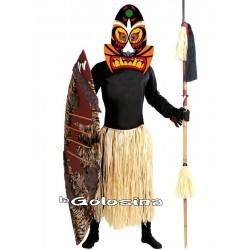 Disfraz Ad. Zulu.
