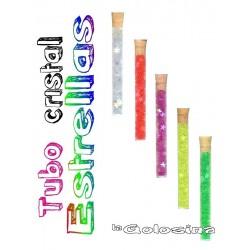 Tubo Cristal: Estrellas fosforescentes