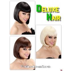 Peluca Deluxe Hair corta lisa