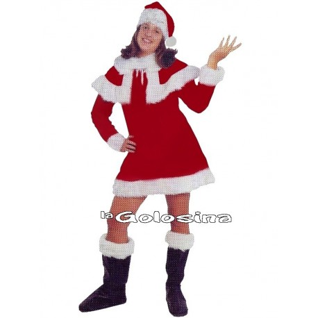 Disfraz Ad. Mama Noel