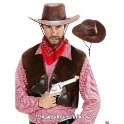 Sombrero Oeste Marron con cordon
