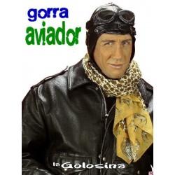 Gorro aviador negro