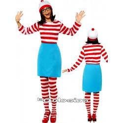 Disfraz Ad. Wally chica.