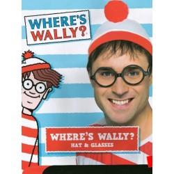"""Gorro + Gafas """"Donde esta Wally"""""""