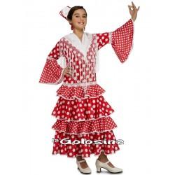 Disfraz Niña: Sevillana.