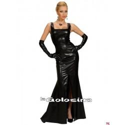 Disfraz Ad. Vestido fiesta GLAMOUR negro