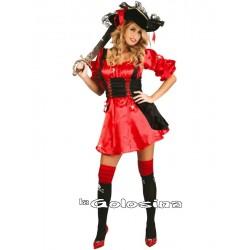 Disfraz Ad. Chica Pirata