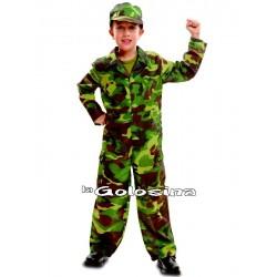 Disfraz Inf. Nino Comando soldado
