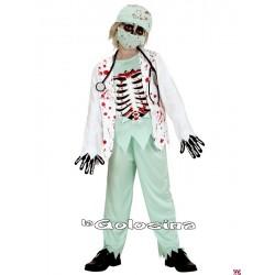 Disfraz Inf. Nino Doctor Zombie
