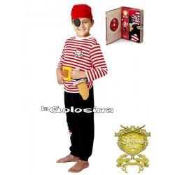 Disfraz Inf. Nino Pirata rayas Pijama
