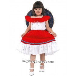 Disfraz Niña: Mexicana, mejicana.