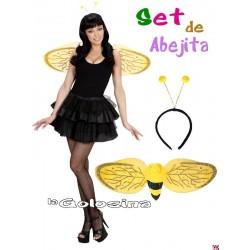 Set de Abejita alas y diadema