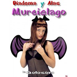 Set Bat Lady alas y orejas