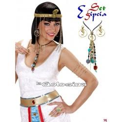 Set Egipcia bisuteria