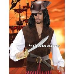 Chaleco y Camisa Pirata