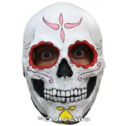 Careta Catrina Skull muerte mexicana