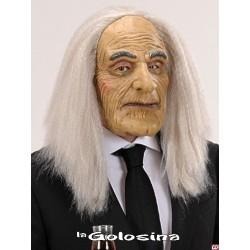 Careta Viejo con calva y pelo gris