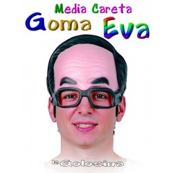 Careta EVA Media careta con gafas