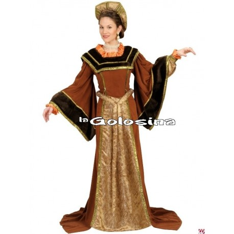 Disfraz Ad. Maria Tudor.