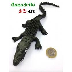 Cocodrilo de goma 23 cm