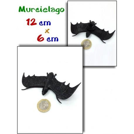 Murcielago ventosa negro 12 cm x 6 cm