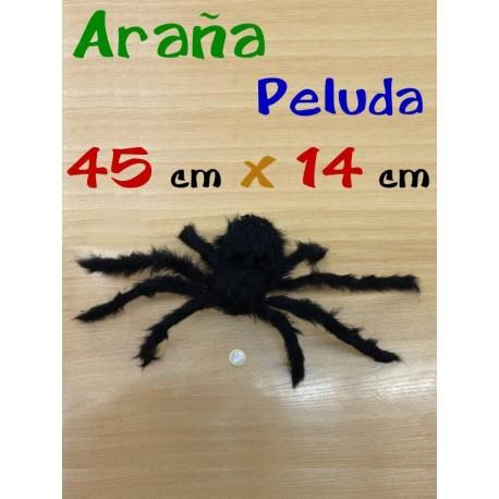 Arana peluda con alambre 45 cm x 14 cm