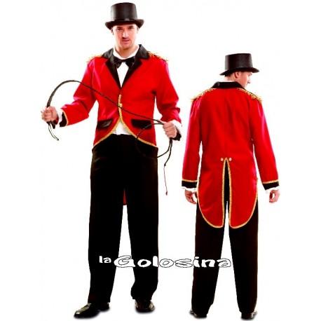 Disfraz Ad. Presentador Circo Domador.